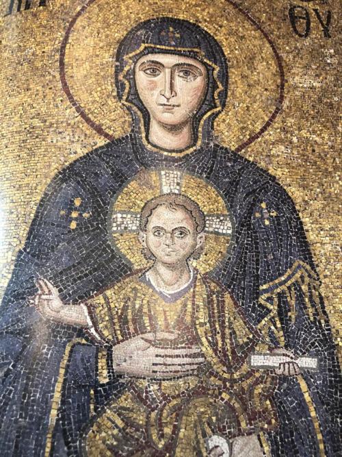 Айя Софія.  Мозаїки і фрески.