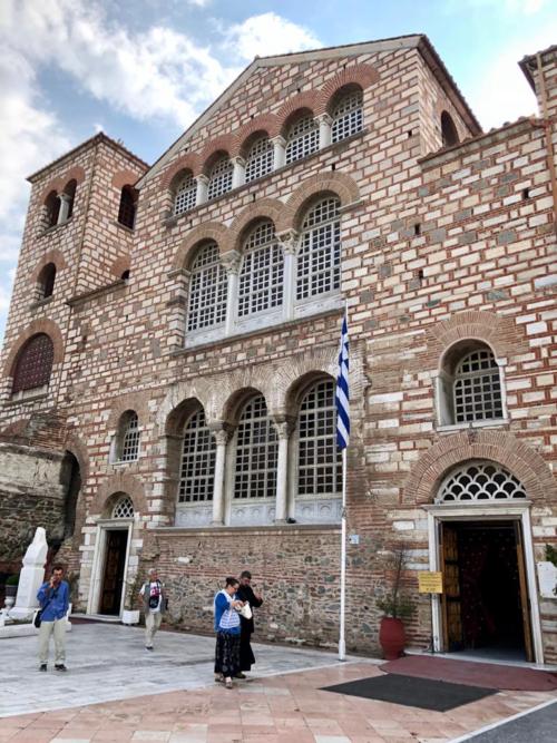 Салоніки. Базиліка Святого Дмитрія.