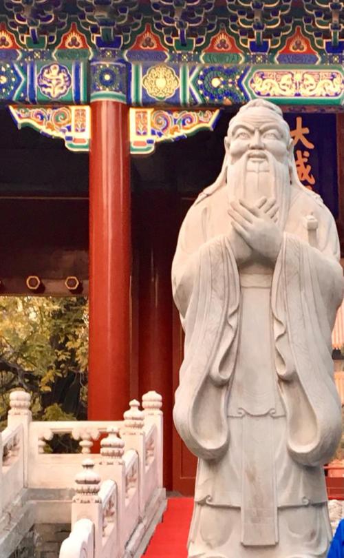 Пекін. Храм Конфуція.