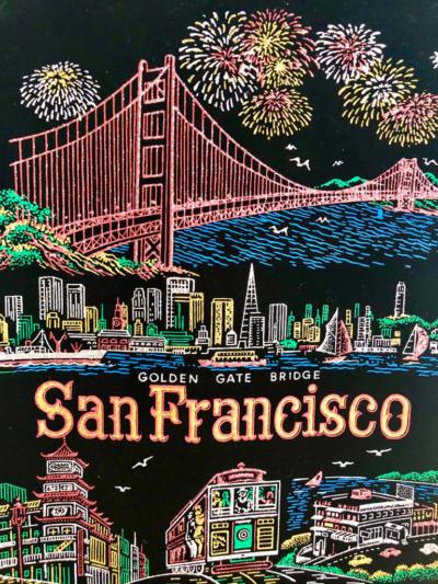 """Міст """"Золоті ворота""""    Сан-Франциско"""